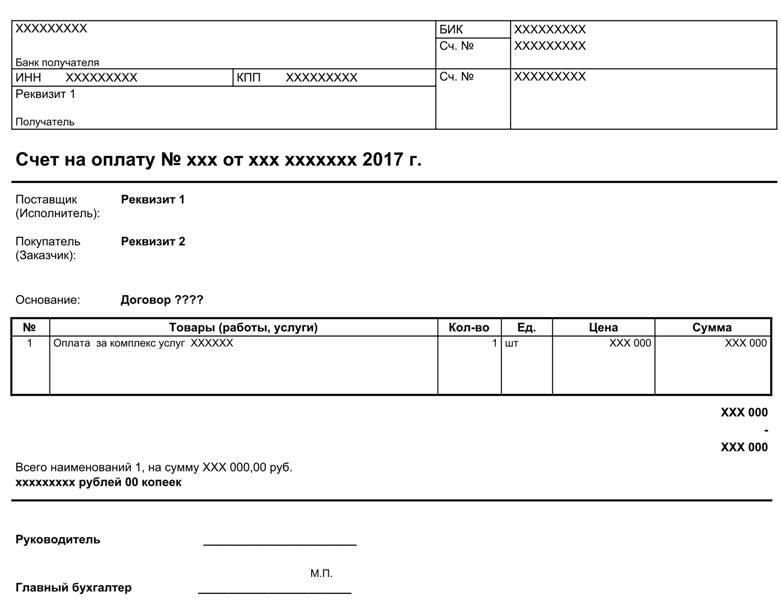 Чем счет отличается от счета фактуры?